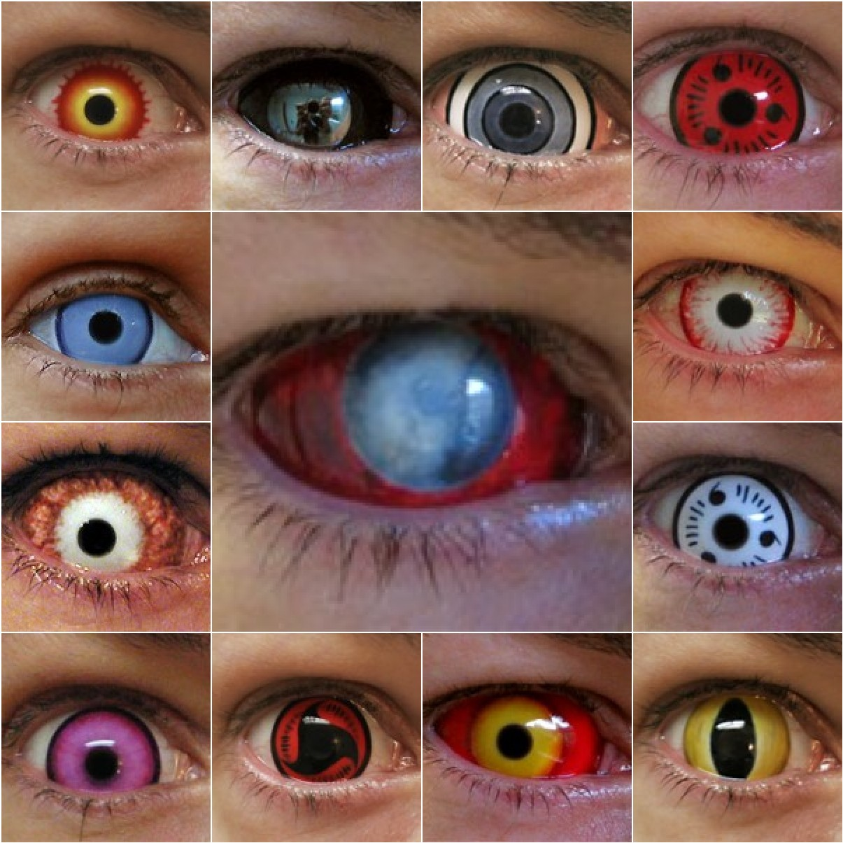Odd Styles To Choose From Like Alien Styled Eyes Or Even Cat Eyes With