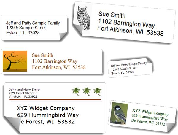 printable address book software