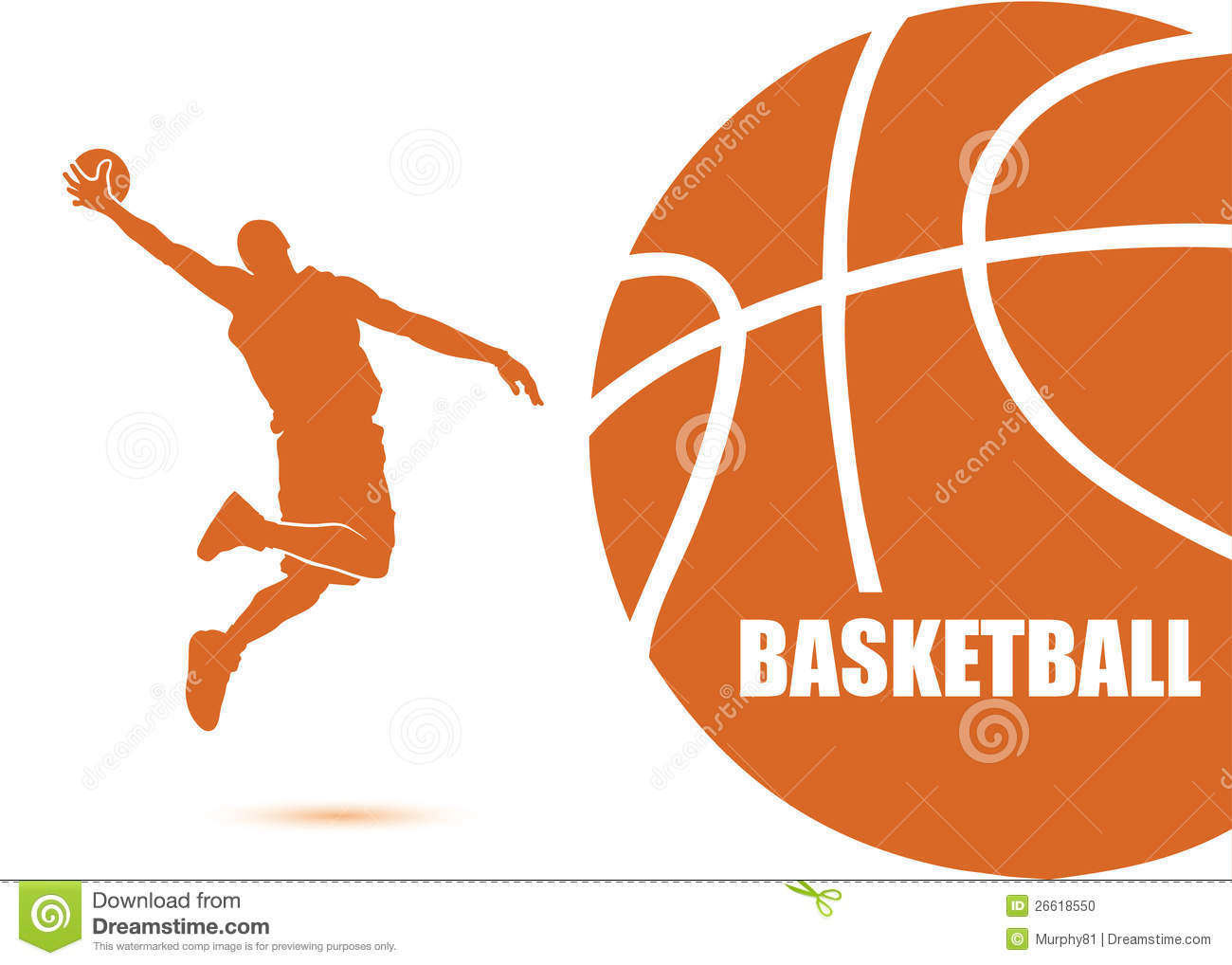 Vector Illustration Of Basketball Player Mr No Pr No 3 1122 8