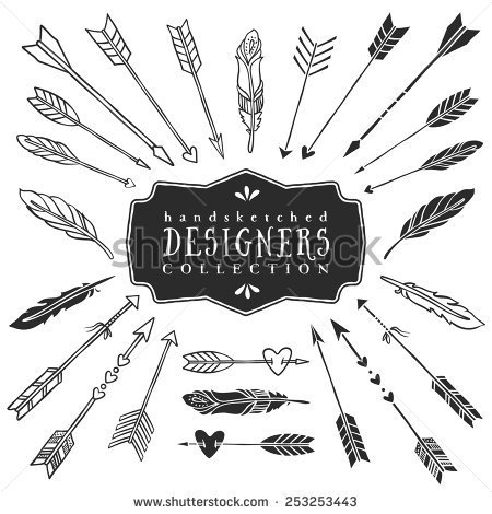 Vintage Arrows Stock Photos Images   Pictures   Shutterstock
