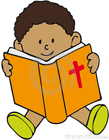 Boy With Bible Clipart - Clipart Kid