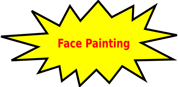 Clip Art Cartoon Face Paint Clipart - Clipart Kid