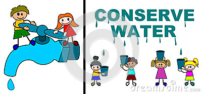 Conserve Water Royalty Free Stock Photo   Image  24737835