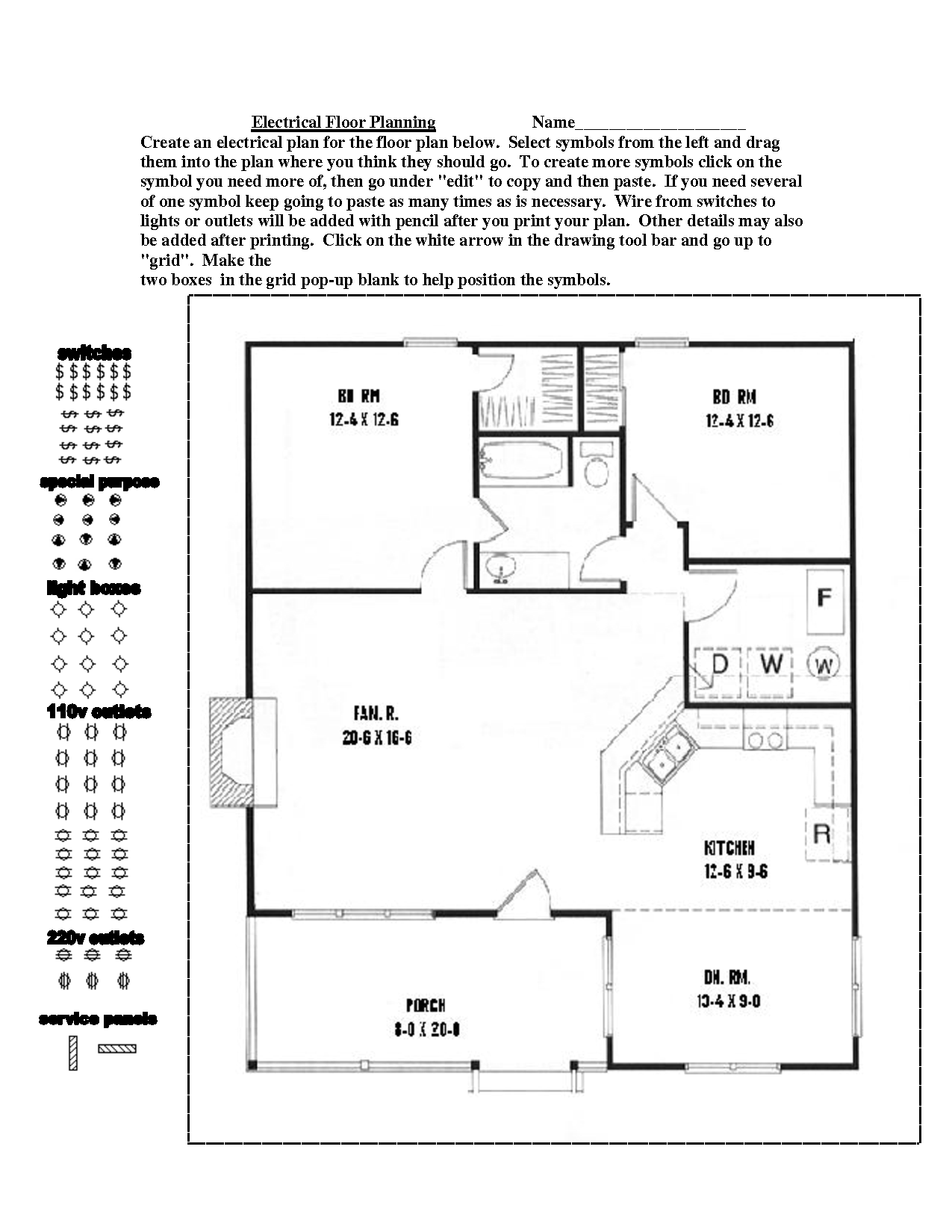 Free clip art site plan legend cliparts for Free floor plan website