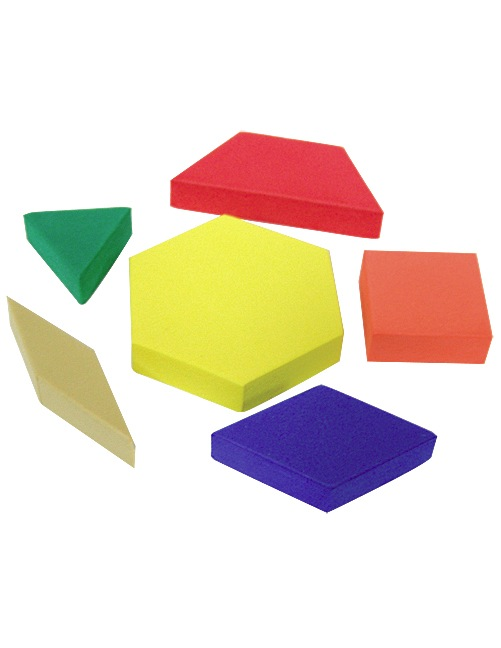 Foam Pattern Blocks   Tcr20612   Products   Teacher Created Resources
