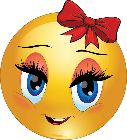 Girl Smiley Emoticon Clipart Royalty Free Public Domain Clipart