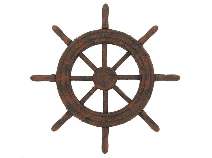 Rusted Ship Steering Wheel   Bloody Pirates      Pinterest