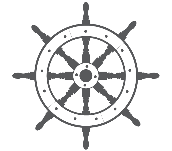 Ship Steering Wheel Free Vector   123freevectors