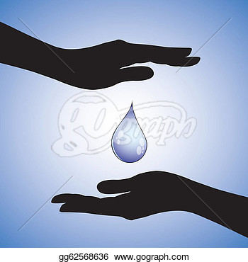 Stock Illustration   Concept Illustration Of Conservation Of Water