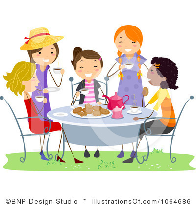 Home Party Clip Art