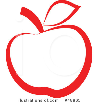 Apple Clipart  48965 By Prawny   Royalty Free  Rf  Stock Illustrations