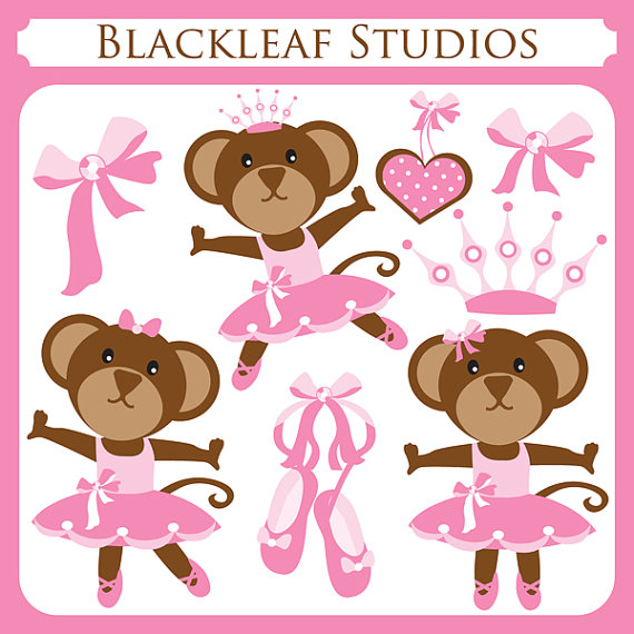 Ballerina Monkeys   Monkey Ballet Girly Monkey Monkey Tutu Cute