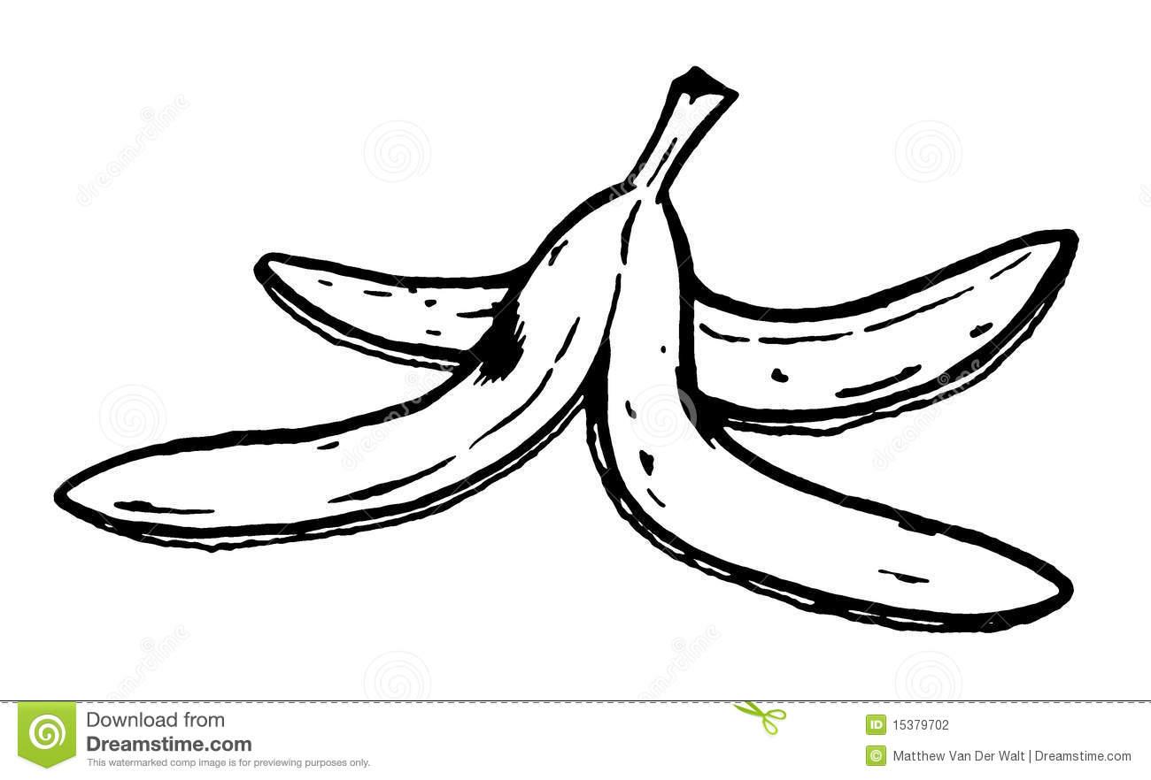 peeled banana coloring pages - photo#10