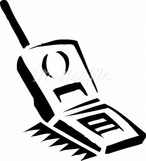 cell phone black and white clipart clipart suggest