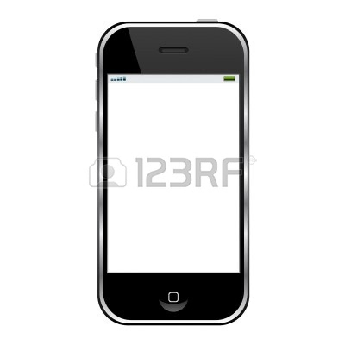 Cell Phone Clipart Black And White   Clipart Panda   Free Clipart