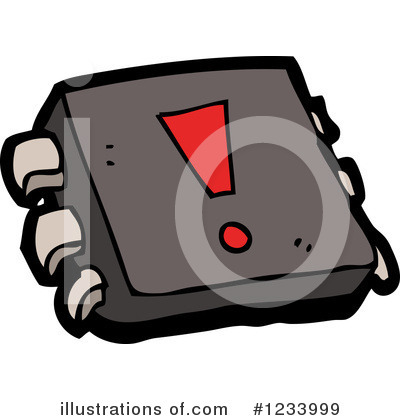 Computer Chip Clipart  1233999 By Lineartestpilot   Royalty Free  Rf