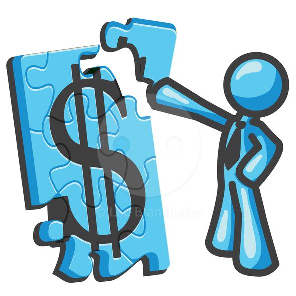 Finance Graphics: Collaborative Planning Clip Art Free
