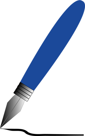 Fountain Pen Clipart - Clipart Suggest