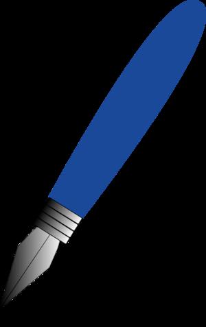 Fountain Pen   Vector Clip Art