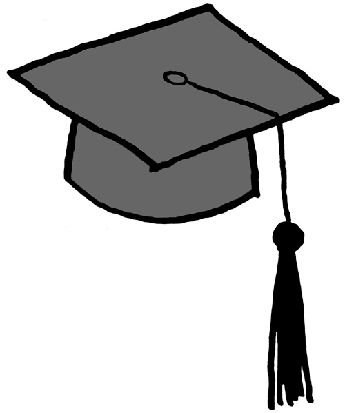 Graduation Cap Clipart - Clipart Kid