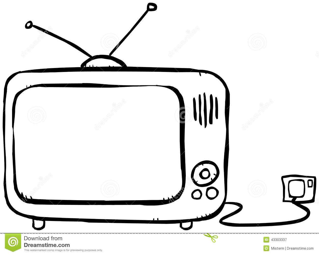 Remote control coloring pages coloring pages for Tv coloring page