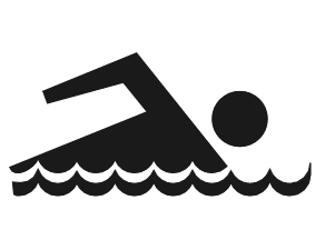 Swimming    Signs Symbol Roadside Symbols Roadside 2 Swimming Png Html