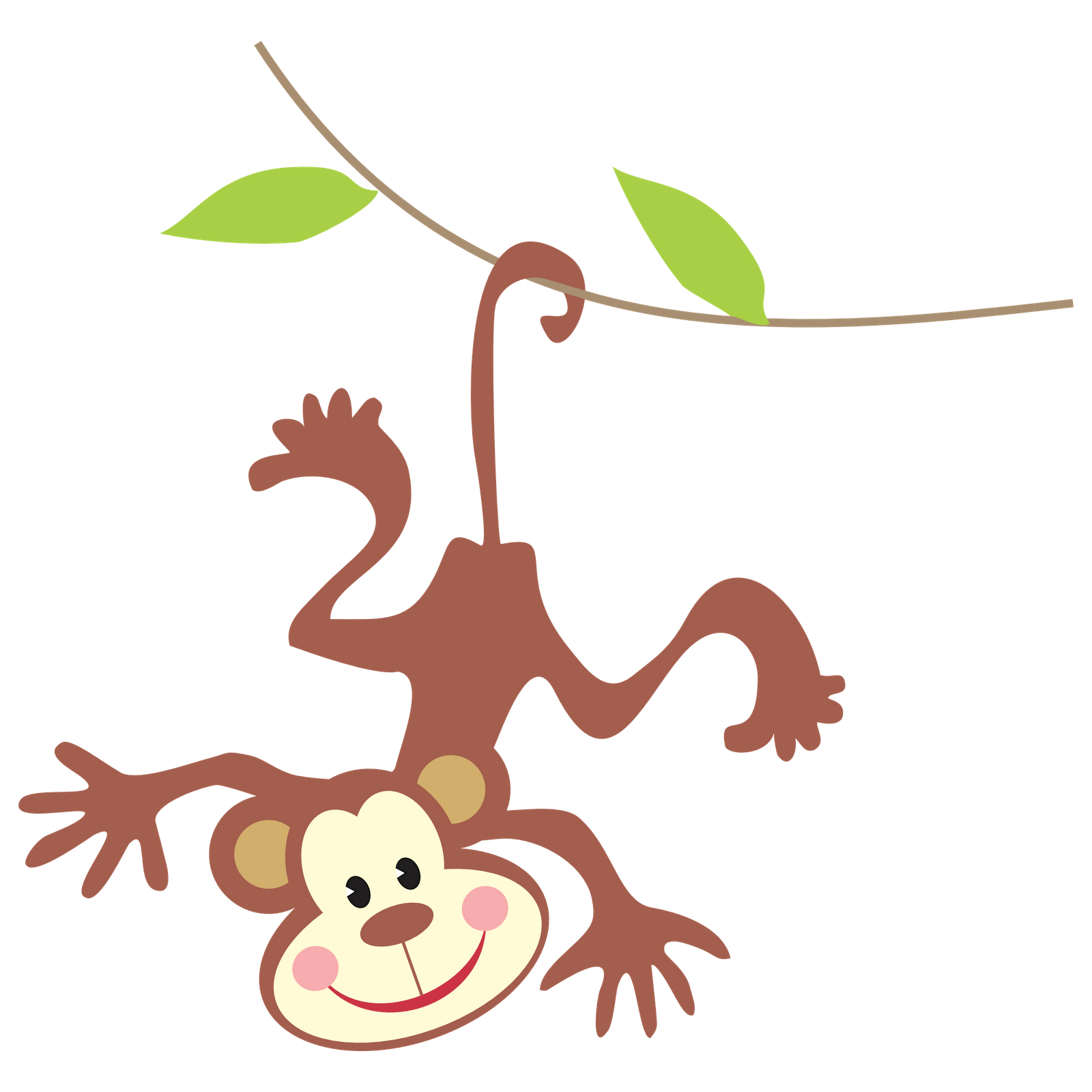 There Is 39 Girl Monkey   Free Cliparts All Used For Free
