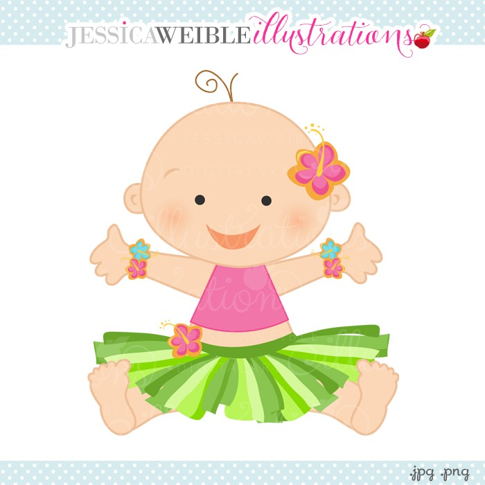 Valentine Tutu Baby Digital Clip Art   Jw Illustrations