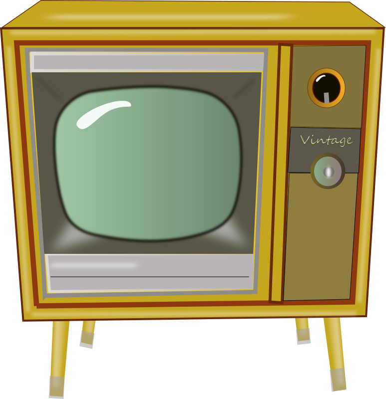 Vintage Tv By Laurianne   Here Is A Picture Of A Vintage Console Tv