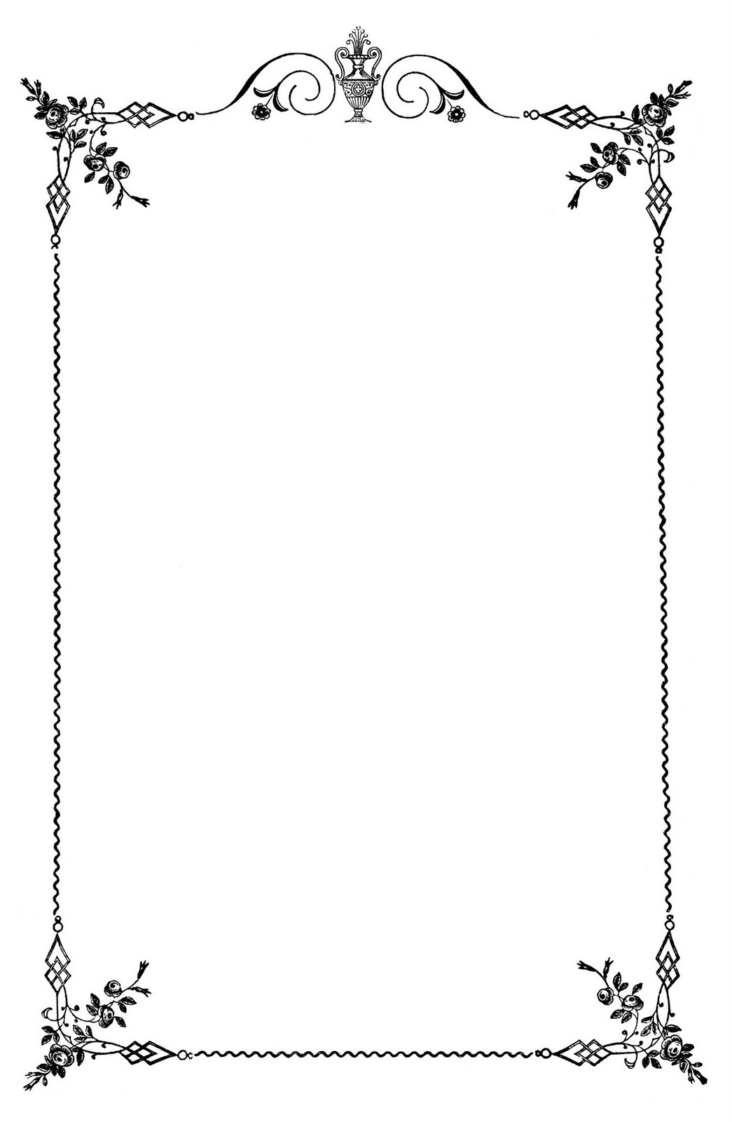 15 Black Wedding Borders Free Cliparts That You Can Download To You