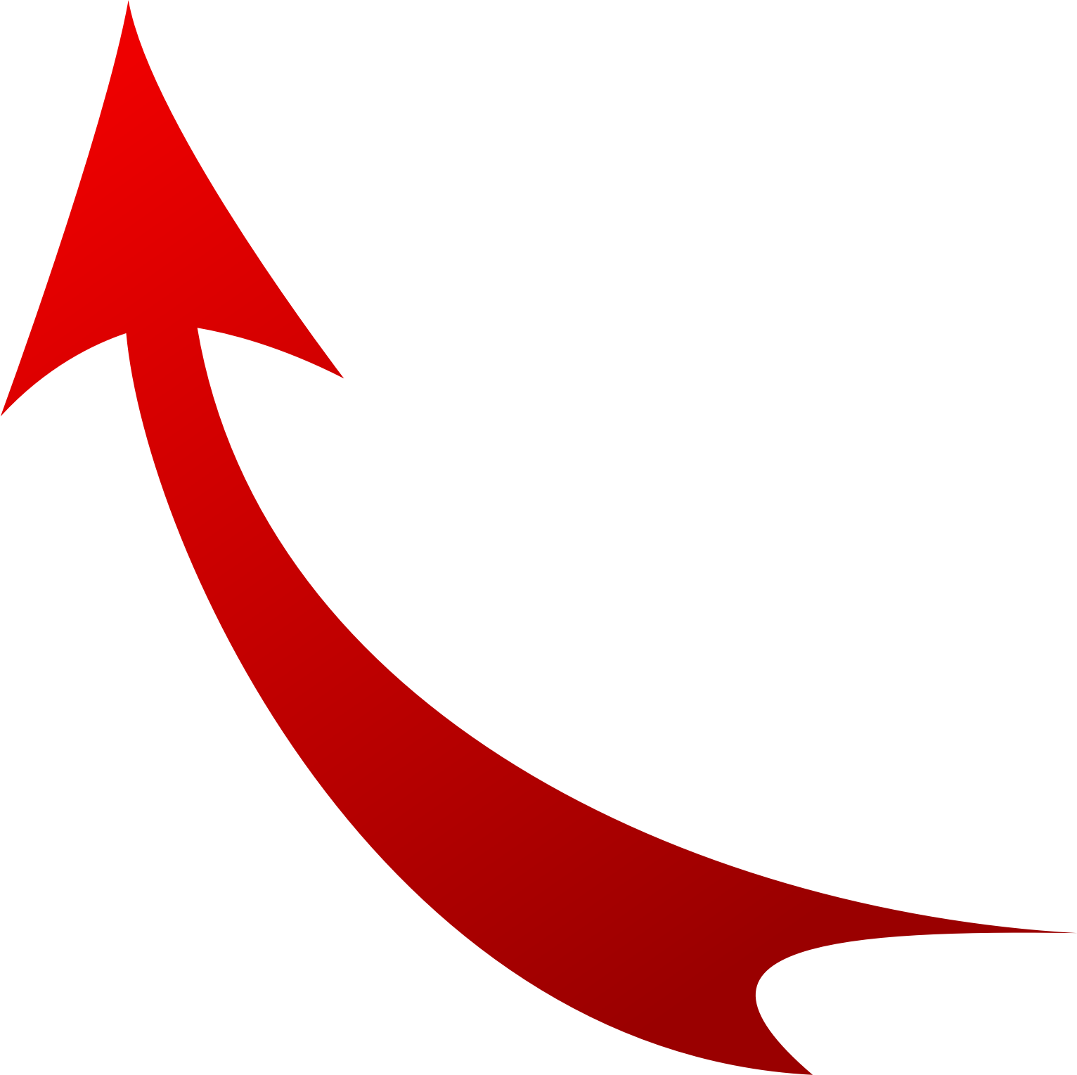 64 Images Of Red Curved Arrow   You Can Use These Free Cliparts For