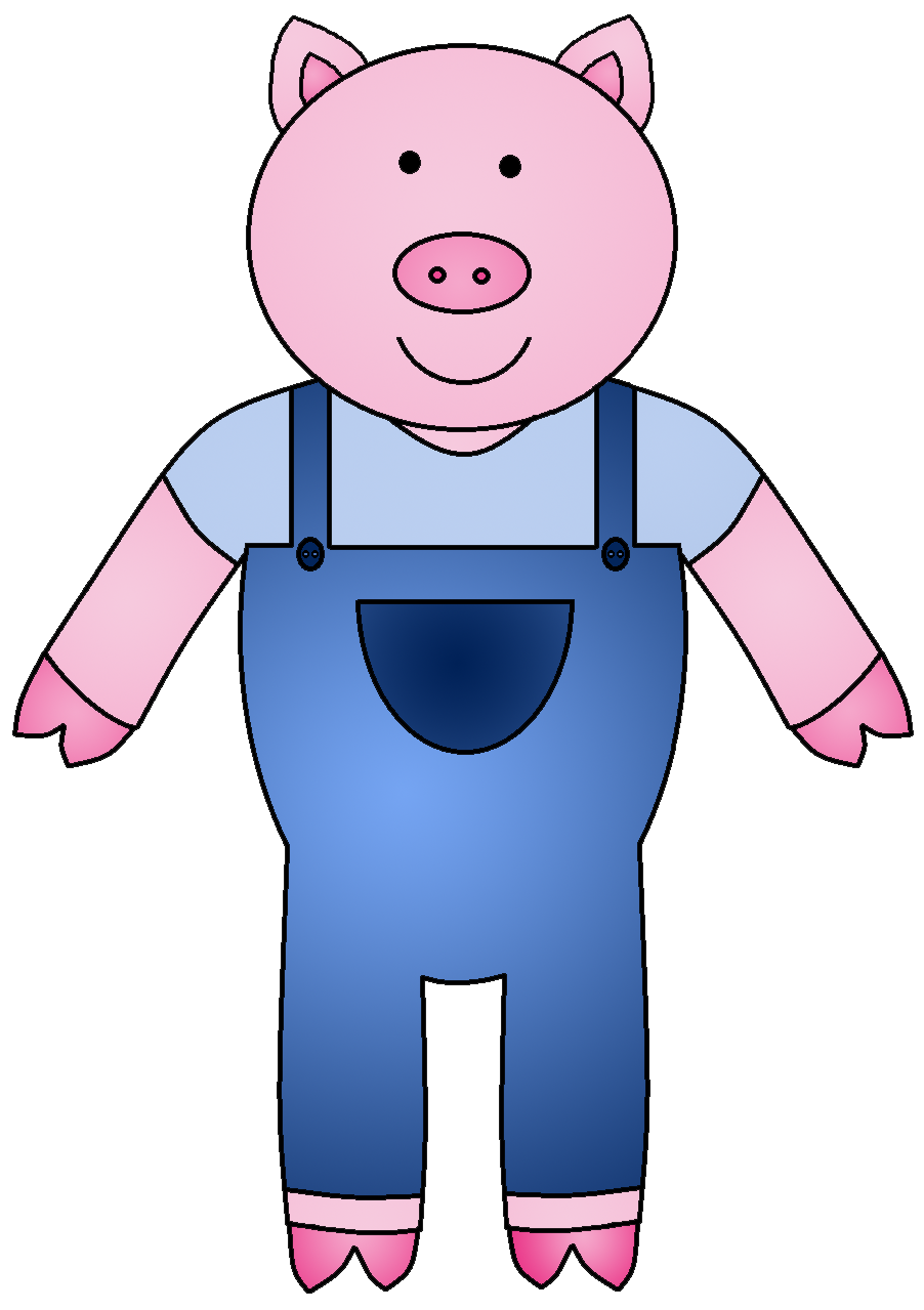 Clip Art Three Little Pigs Clipart three little pigs clipart kid back gallery for 3 book clip art