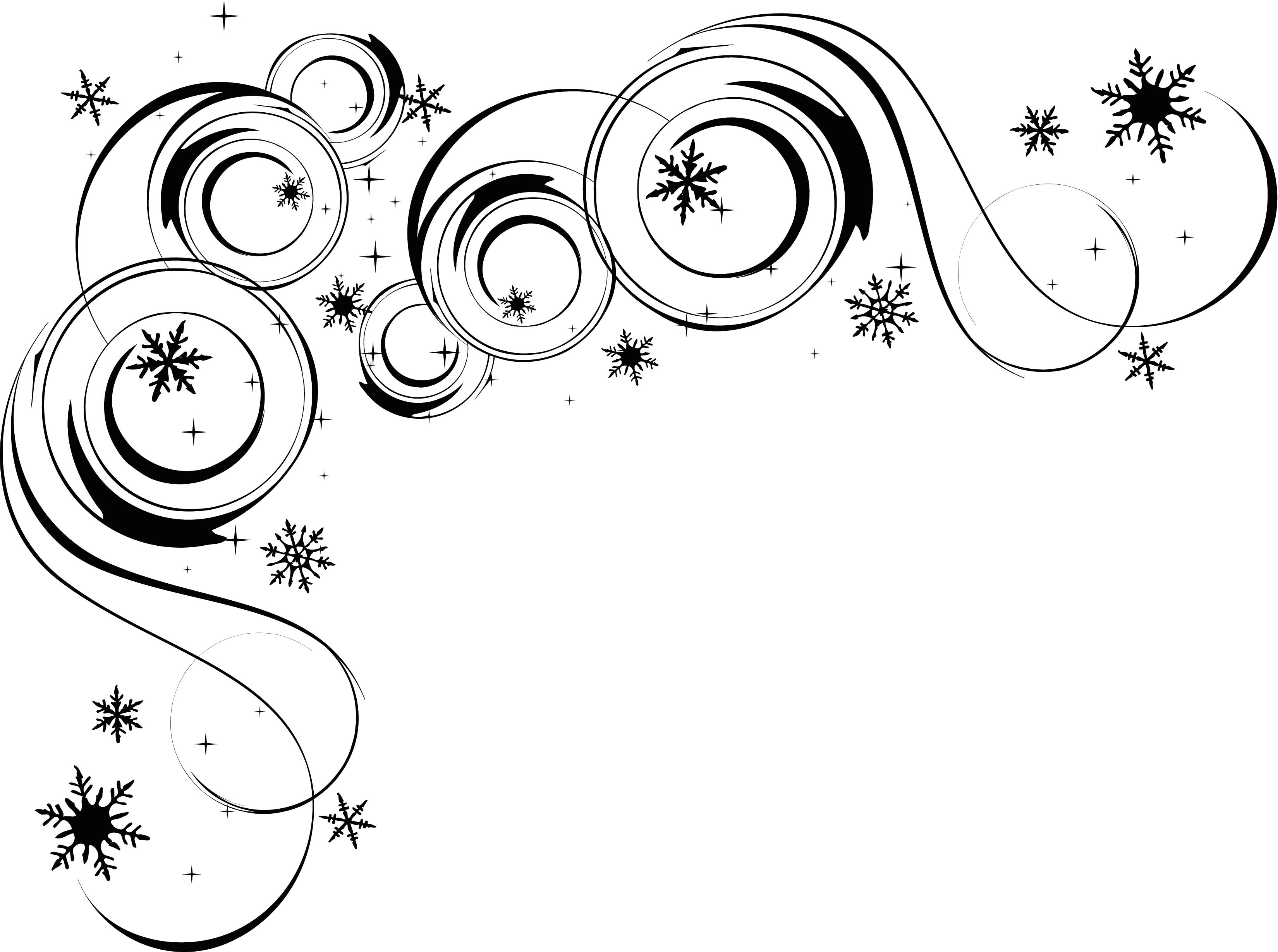 Swirl Corner Borders Clipart - Clipart Kid