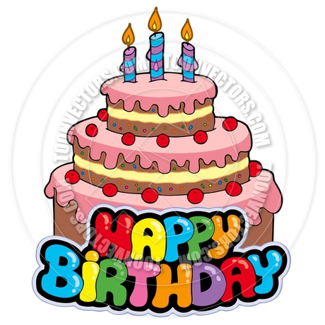 Cartoon Birthday Cake Images With Name : Image Gallery happy birthday cartoon cake