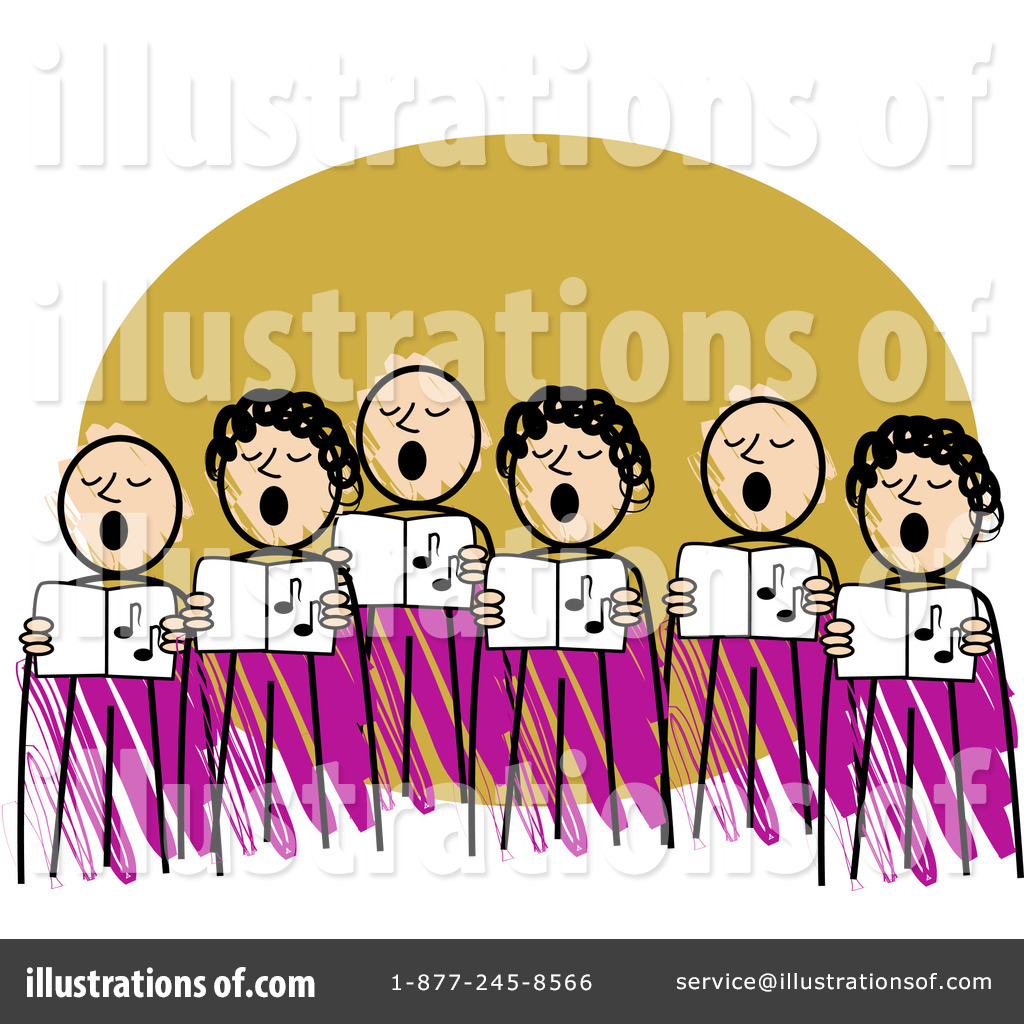 Choir Clipart  72867   Illustration By R Formidable