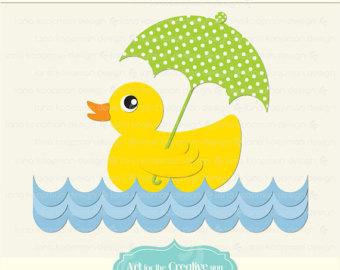 Duck Digital Clipart Rubber Duck Clipart