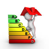 Improving Home Energy Performance   Royalty Free Clip Art