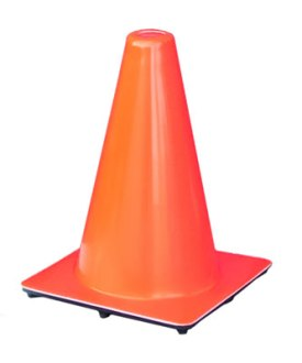 Orange Safety Cones Parking Cones 12incone Orange Traffic Cones