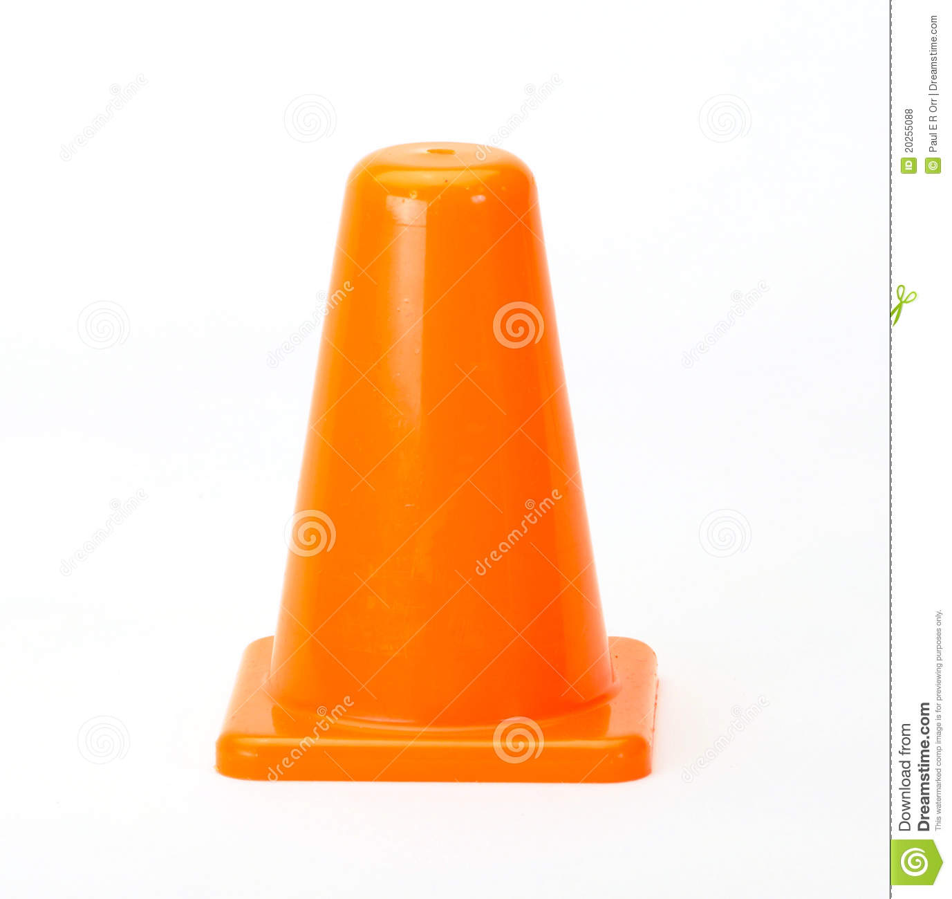 Orange Traffic Cones Royalty Free Stock Photos   Image  20255088