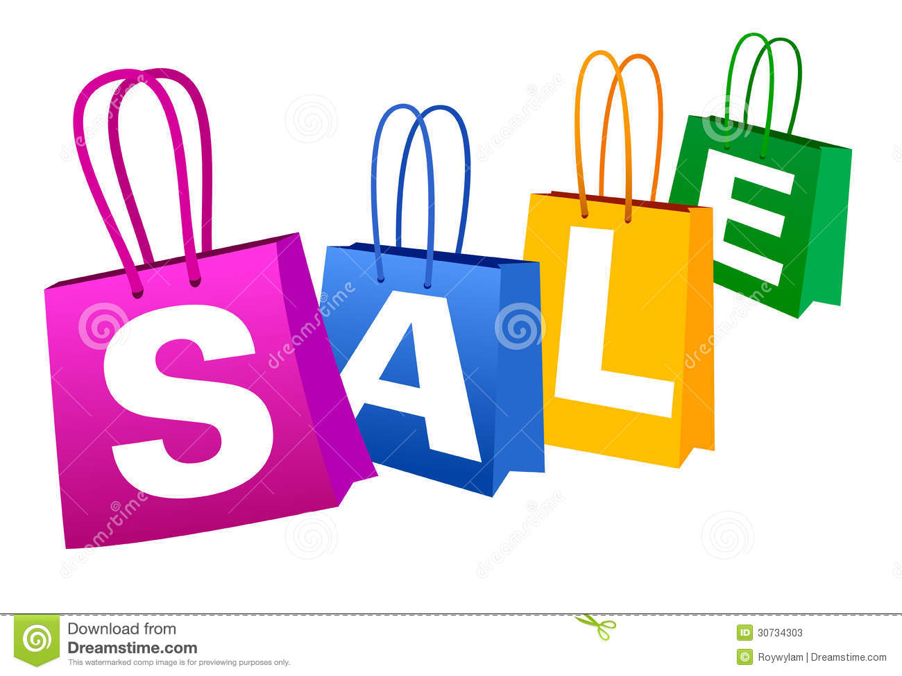 Sale Banner Stock Photos   Image  30734303