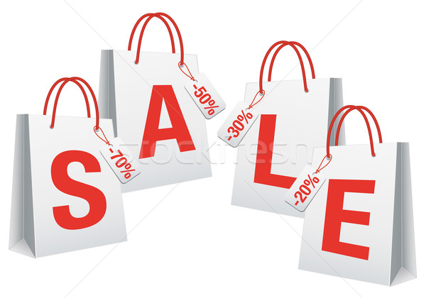 Sale Shopping Bag Clip Art