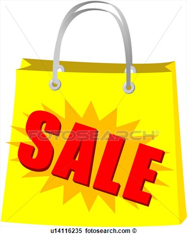 Shopping Bag Icon Bag General Mechandise Logo Sale View Large