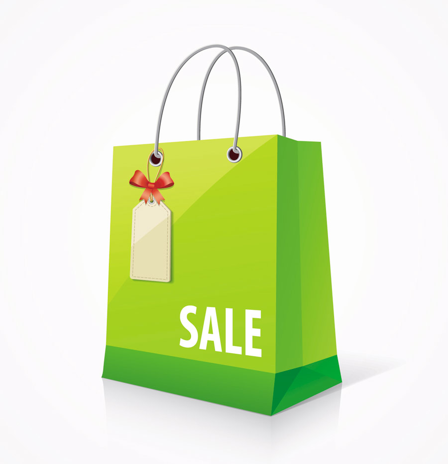 Vector Design Shopping Bags Free Vector About Shopping Bag Design Sale