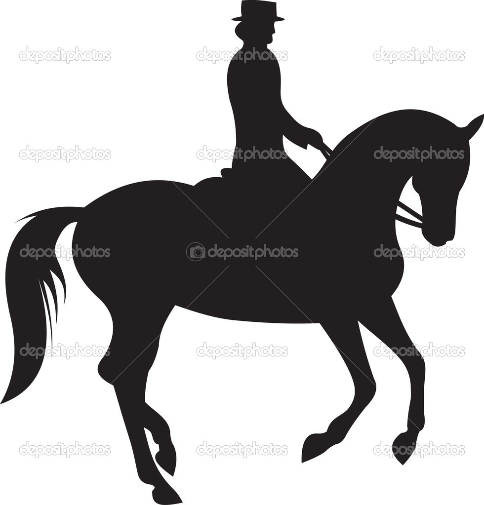 clip art dressage horse - photo #28