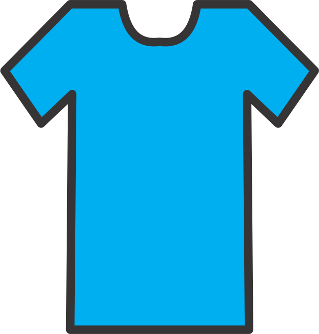 T-shirt Outline Clipart - Clipart Kid