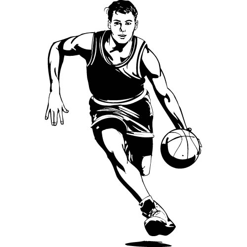 Basketball Pictures Clip Art I16