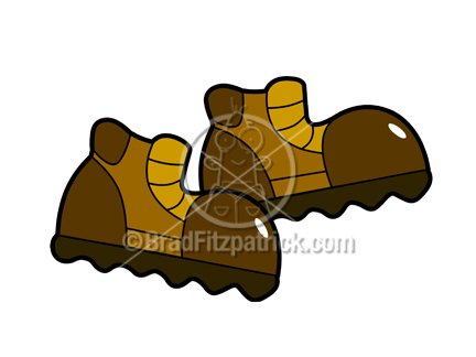 Safety Work Boot Clipart - Clipart Kid