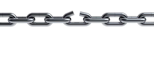 Broken Chain Link Vector Clip Art Pictures