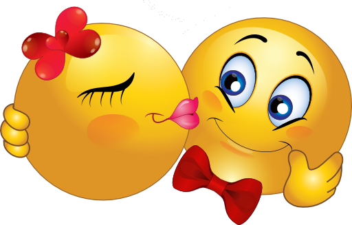 Kissing Smiley Face Clipart - Clipart Kid