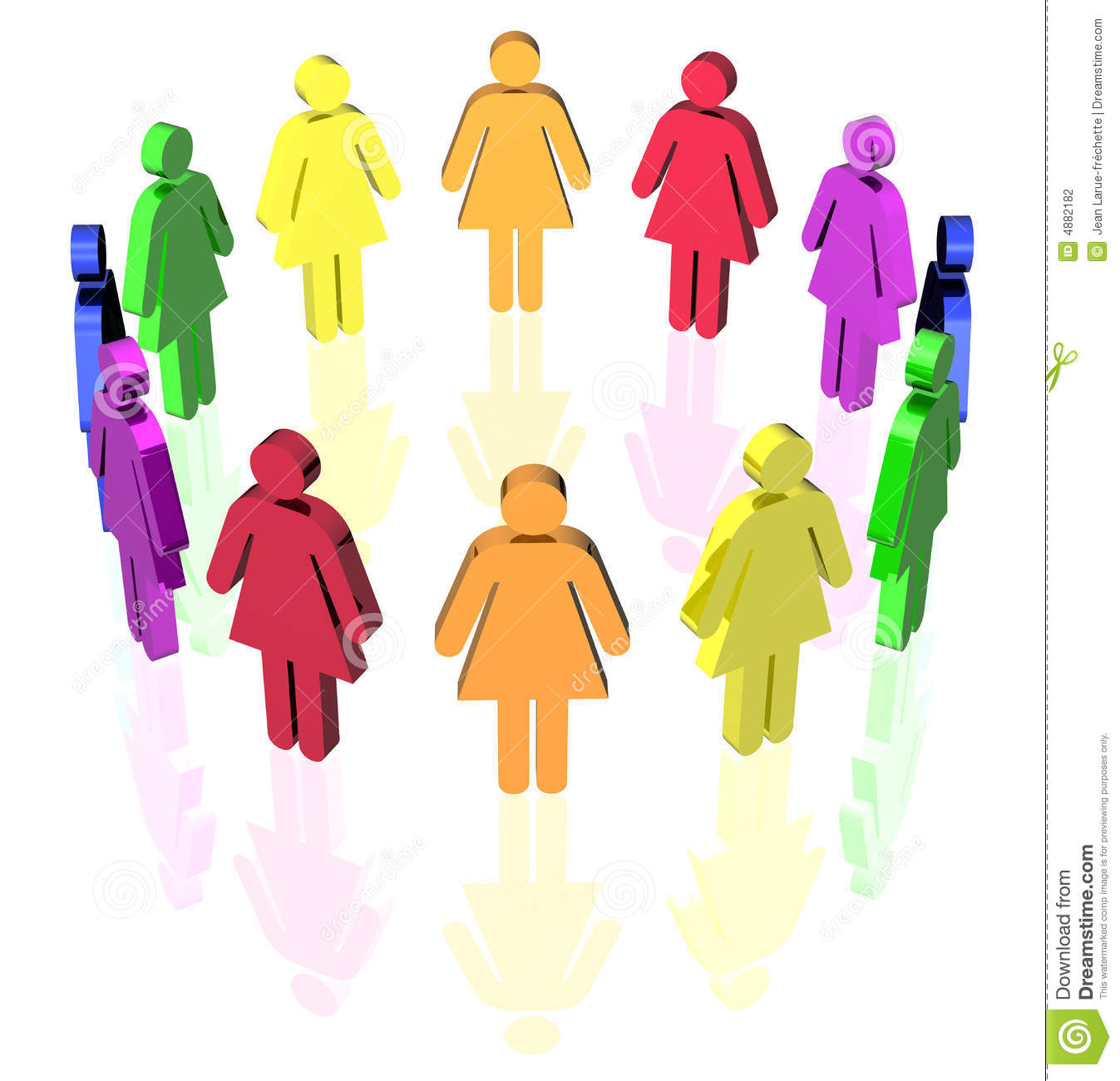 Gay Circle Women Stock Photography   Image  4882182